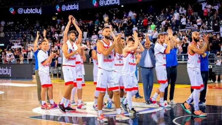 CSM Oradea a învins U BT Cluj în meciul 3 al finalei Ligii Naţionale de baschet masculin