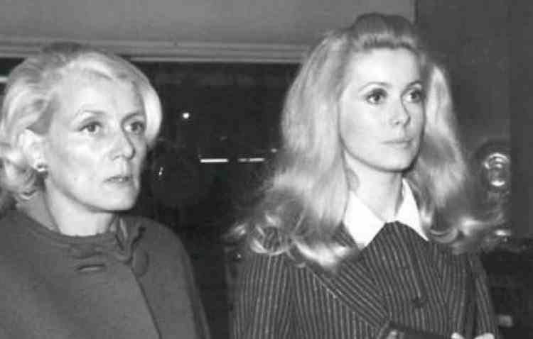 A murit mama actriței Catherine Deneuve - Actrița Renee Dorleac avea 109 ani