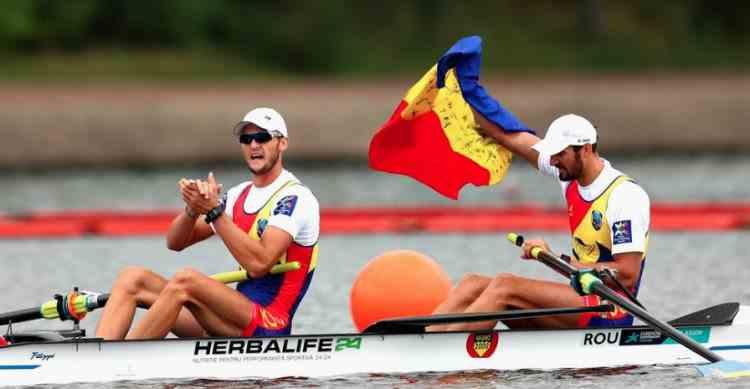JO 2020, canotaj: Marius Cozmiuc și Ciprian Tudosă au obținut medalia de argint în proba de dublu rame masculin