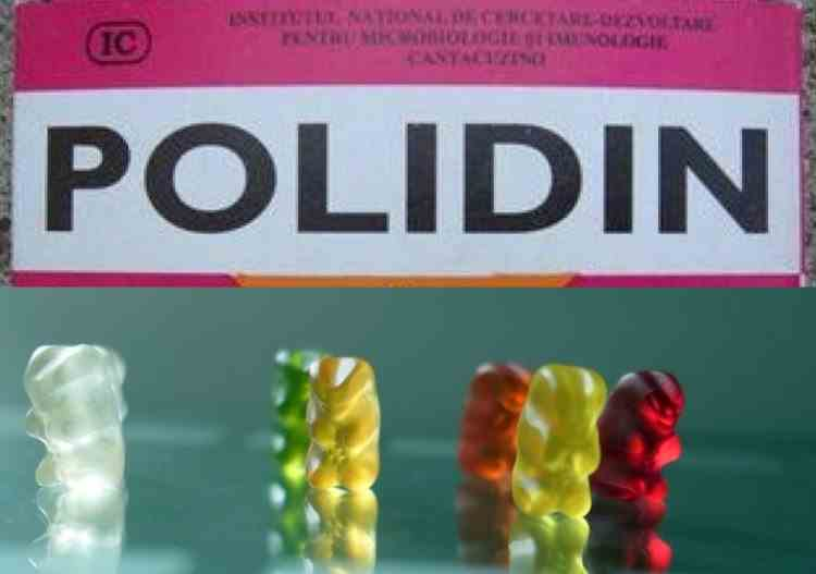 Specialiștii Institutului Cantacuzino lucrează la noul Polidin, sub formă de capsulă-ursuleț sau spray nazal