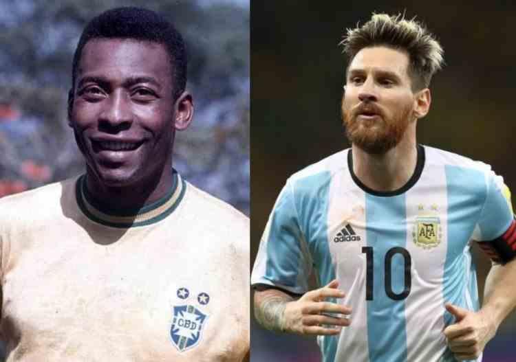 Lionel Messi a doborât recordul stabilit de fostul fotbalist brazilian Pele
