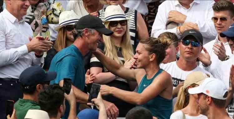 Simona Halep a încheiat colaborarea cu antrenorul Darren Cahill