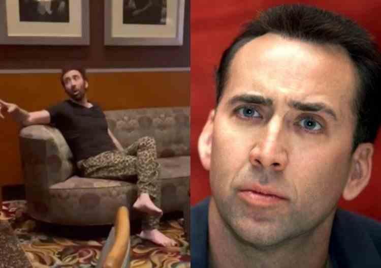 VIDEO: Actorul Nicolas Cage, dat afară dintr-un local din Las Vegas, după ce a fost confundat cu un om al străzii