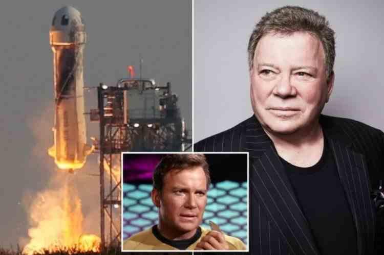 """Căpitanul Kirk din """"Star Trek"""", William Shatner, va deveni astronaut la 90 de ani: Actorul îl va însoţi pe Jeff Bezos în următoarea călătorie în spațiu"""