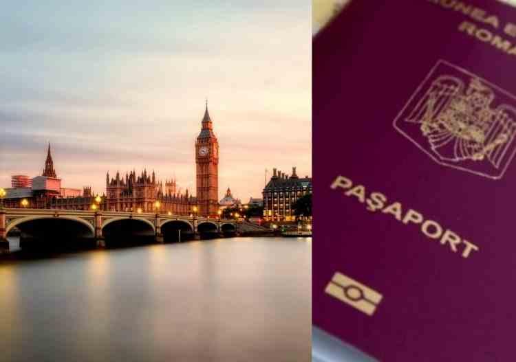Doar cu pașaportul în Marea Britanie, începând cu 1 octombrie
