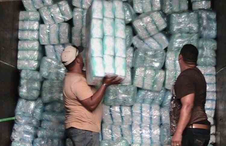 O tonă de cocaină cu destinaţie Bulgaria, confiscată de polițiștii din Ecuador