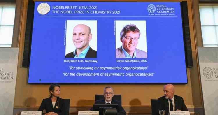 Benjamin List și David MacMillan au câștigat premiul Nobel pentru Chimie