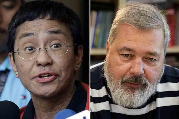 Premiul Nobel pentru Pace a fost câștigat de jurnalistii Maria Ressa și Dmitri Muratov