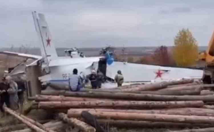 VIDEO: Cel puțin 16 persoane au murit, după prăbușirea unui avion în Rusia