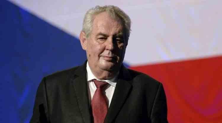 Preşedintele ceh Milos Zeman a fost internat la terapie intensivă, într-un spital din Praga